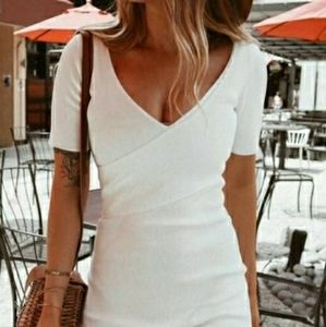 Good American White Dress Size 2 medium